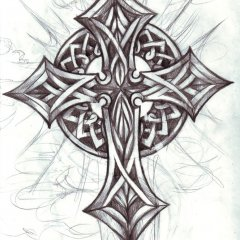 tribal-celtic-christian-cross