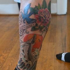 Traditional Half Leg Sleeve