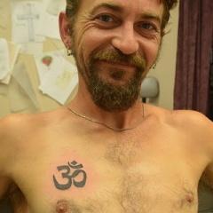 Small Aum Tattoo