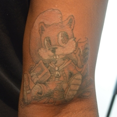 Conker's Bad Fur Day Tattoo
