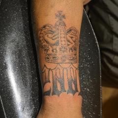 Crown Tattoo 2001
