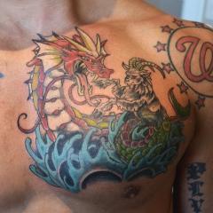 Red Gyrados Tattoo