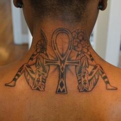 Egyptian Gemini Tattoo