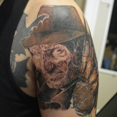 Nightmare on Elm Street Tattoo