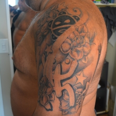 Puertorican Tribal Tattoo