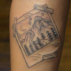 mountain-range-polariod-tattoo-sm