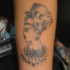 Queen Nefertiti Tattoo