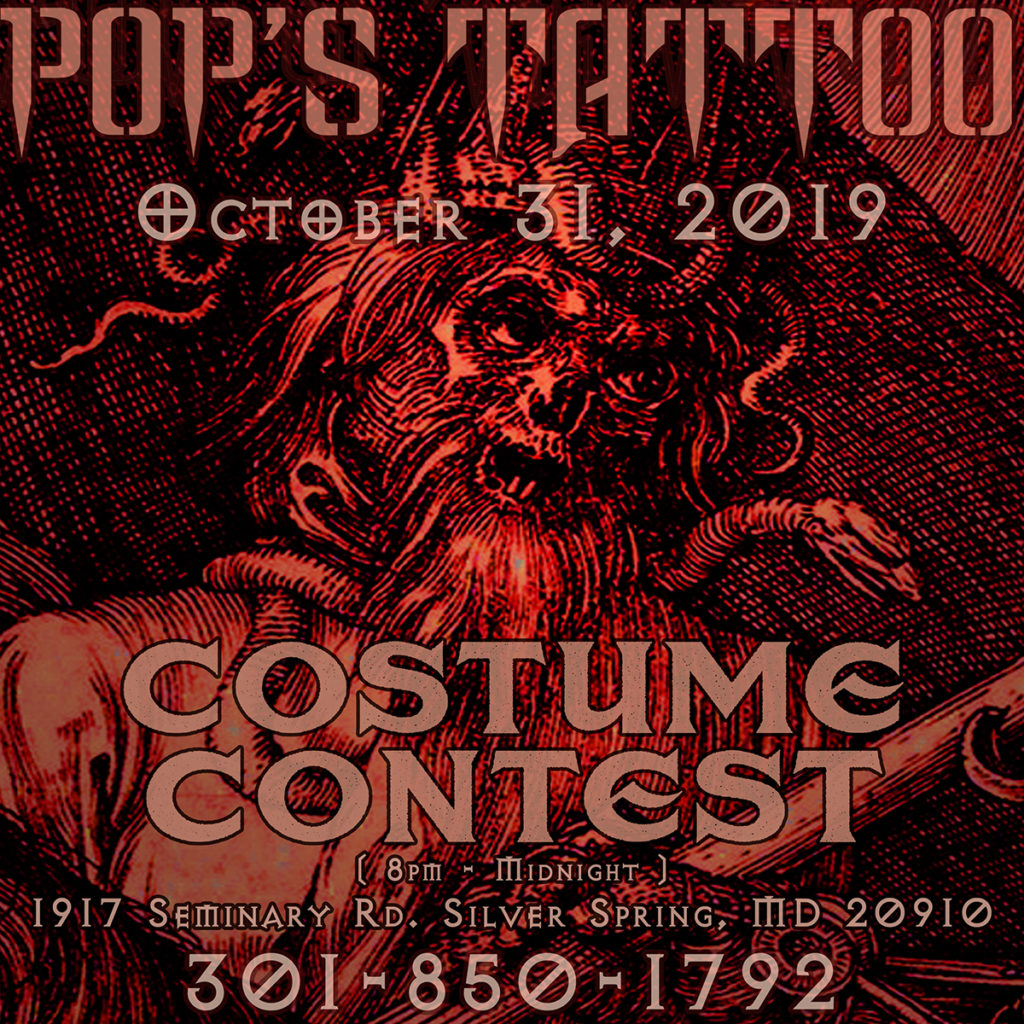 Pops Tattoo Costume Contest